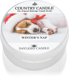 Country Candle Winter's Nap tealight candle