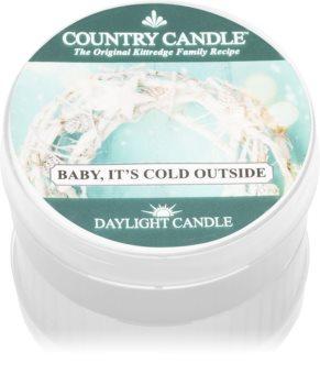 Country Candle Baby It's Cold Outside čajna svijeća