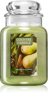 Country Candle Anjou & Allspice candela profumata