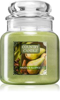 Country Candle Anjou & Allspice vonná sviečka stredná