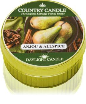 Country Candle Anjou & Allspice čajna svijeća