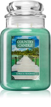 Country Candle Citrus & Seagrass duftkerze  große