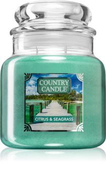 Country Candle Citrus & Seagrass aроматична свічка