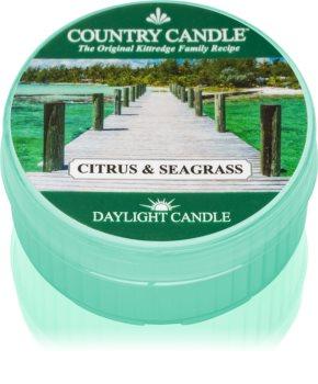 Country Candle Citrus & Seagrass čajna svijeća