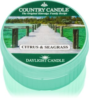 Country Candle Citrus & Seagrass tealight candle