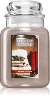 Country Candle Warm & Fuzzy candela profumata