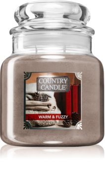 Country Candle Warm & Fuzzy doftljus