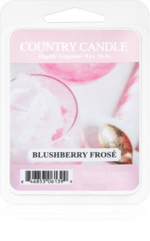 Country Candle Blushberry Frosé wachs für aromalampen