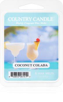 Country Candle Coconut Colada tartelette en cire