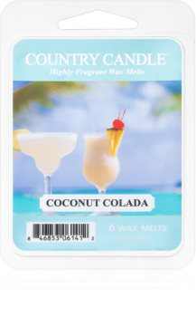 Country Candle Coconut Colada восък за арома-лампа