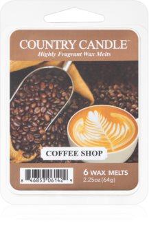 Country Candle Coffee Shop illatos viasz aromalámpába