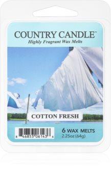 Country Candle Cotton Fresh восък за арома-лампа