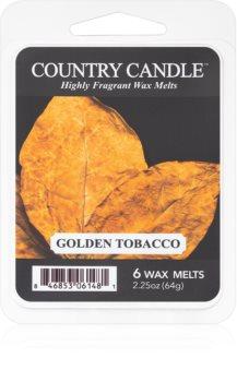 Country Candle Golden Tobacco wachs für aromalampen