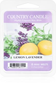 Country Candle Lemon Lavender vaxsmältning