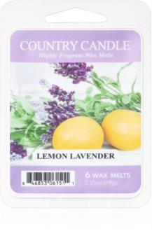Country Candle Lemon Lavender восък за арома-лампа