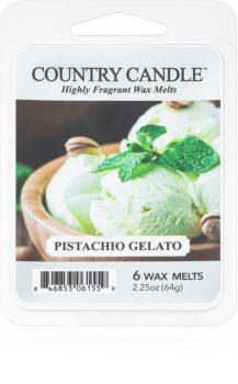 Country Candle Pistachio Gelato wax melt
