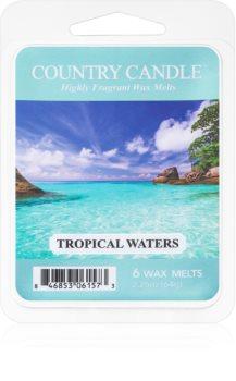 Country Candle Tropical Waters ceară pentru aromatizator