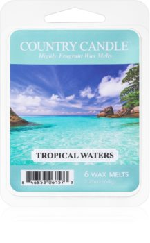 Country Candle Tropical Waters wachs für aromalampen