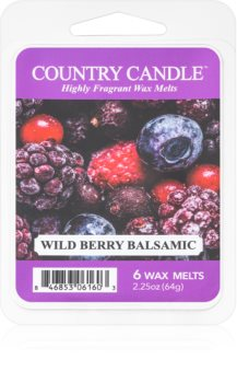 Country Candle Wild Berry Balsamic wachs für aromalampen