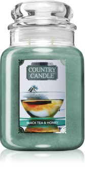 Country Candle Black Tea & Honey duftkerze