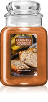 Country Candle Banana Bread illatos gyertya