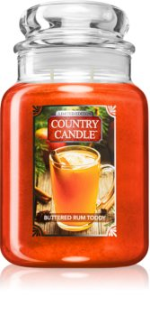 Country Candle Buttered Rum Toddy candela profumata