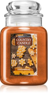 Country Candle Gingerbread scented candle