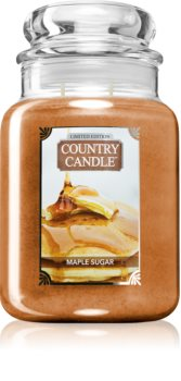 Country Candle Maple Sugar & Cookie candela profumata