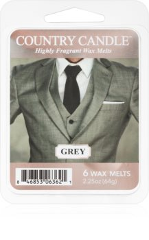 Country Candle Grey vosek za aroma lučko