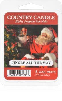 Country Candle Jingle All The Way illatos viasz aromalámpába