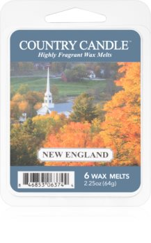 Country Candle New England wosk zapachowy