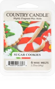 Country Candle Sugar Cookies κερί για αρωματική λάμπα