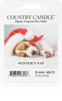 Country Candle Winter's Nap wachs für aromalampen
