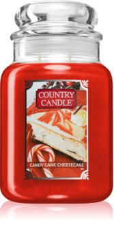 Country Candle Candy Cane Cheescake bougie parfumée