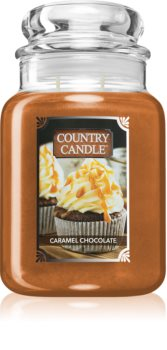 Country Candle Caramel Chocolate doftljus