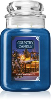 Country Candle Christmas Market scented candle
