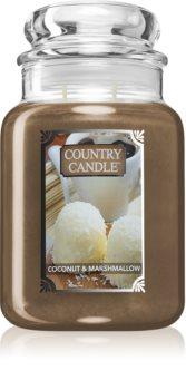 Country Candle Coconut & Marshmallow candela profumata