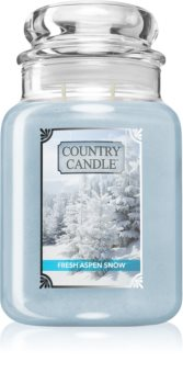 Country Candle Fresh Aspen Snow candela profumata