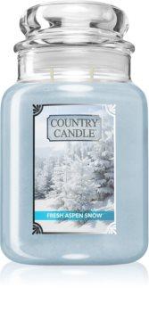 Country Candle Fresh Aspen Snow illatos gyertya