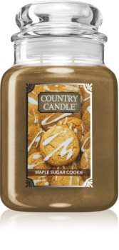 Country Candle Maple Sugar & Cookie Duftkerze