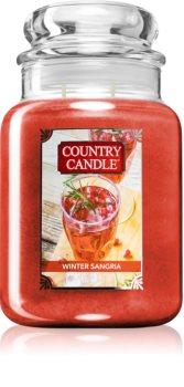 Country Candle Winter Sangria świeczka zapachowa