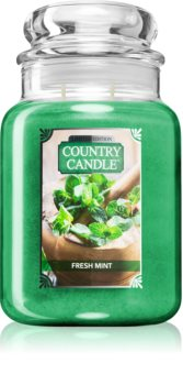 Country Candle Fresh Mint scented candle