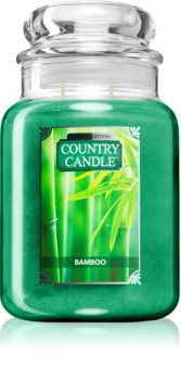 Country Candle Bamboo scented candle