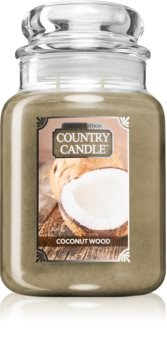 Country Candle Coconut Wood bougie parfumée