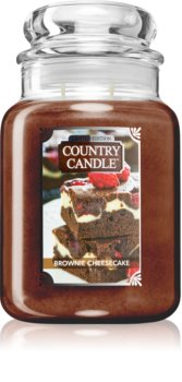 Country Candle Brownie Cheesecake scented candle