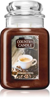 Country Candle Espresso Crema bougie parfumée