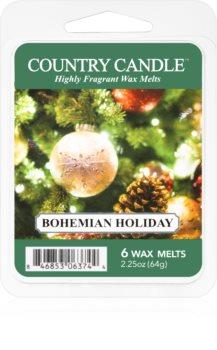 Country Candle Bohemian Holiday восък за арома-лампа