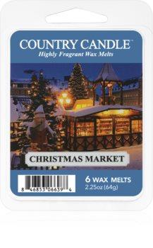 Country Candle Christmas Market cera per lampada aromatica