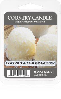 Country Candle Coconut & Marshmallow ceară pentru aromatizator
