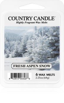 Country Candle Fresh Aspen Snow duftwachs für aromalampe